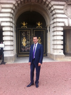 Arif Butt at Buckingham Palace